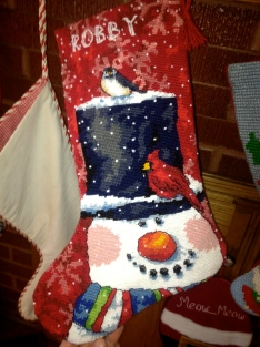 Robby's new stocking