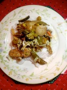 stir-fry dinner
