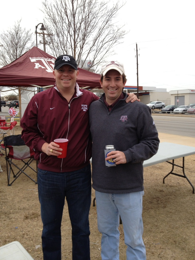 A&M Cotton Bowl Kyle&Robby
