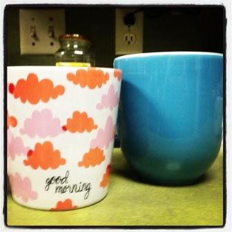 I love my new coffee cups!