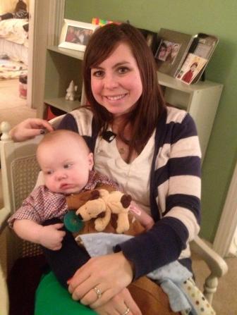 Katy and baby Jack