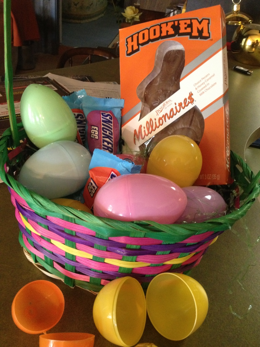 Our Easter basket!