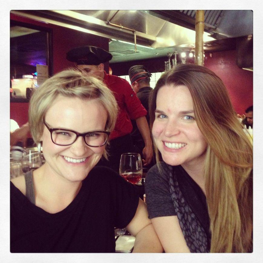 Jenn and Alison