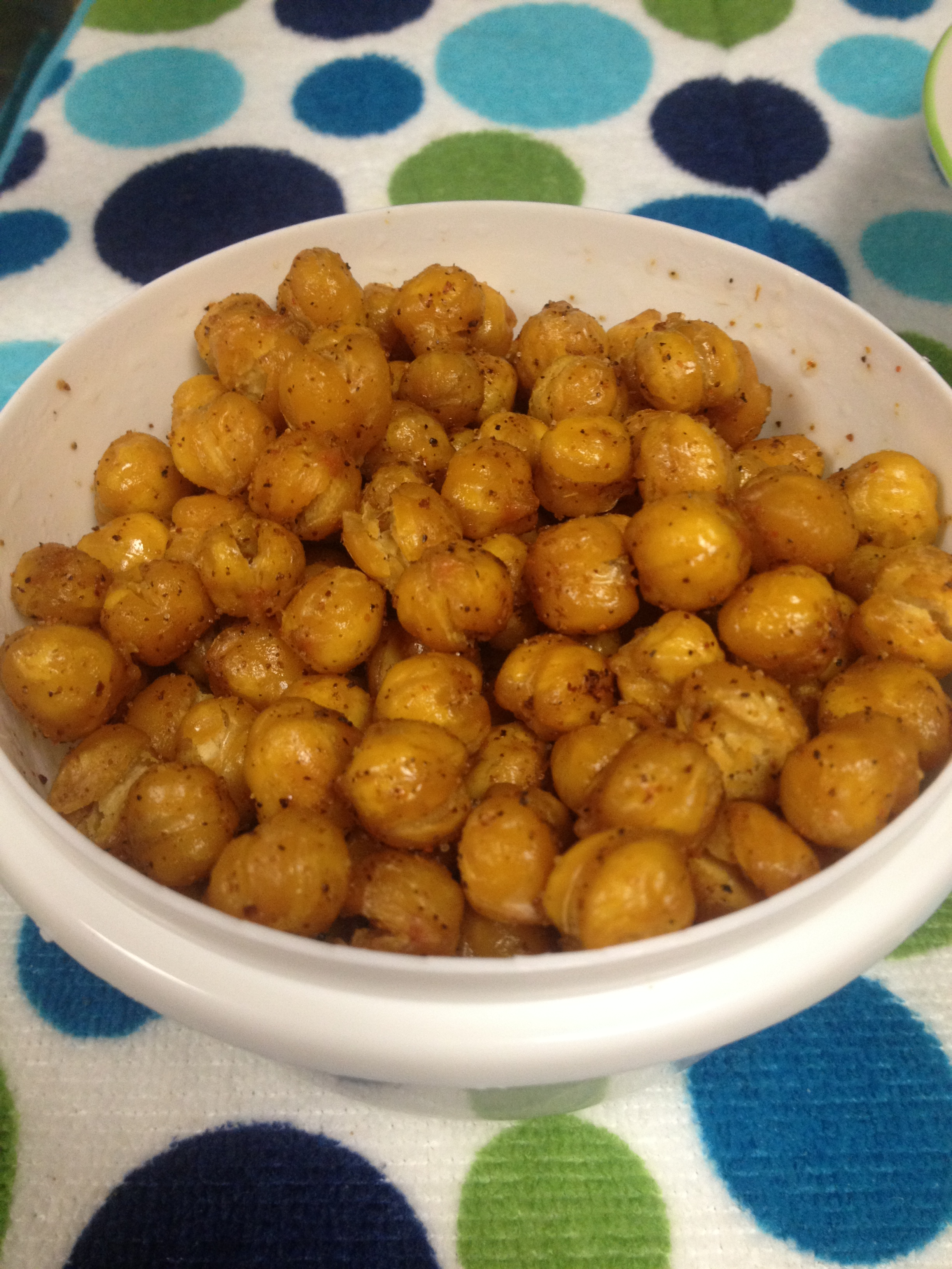 Roasted Chickpeas (Garbanzo beans) | Life with the Rigneys