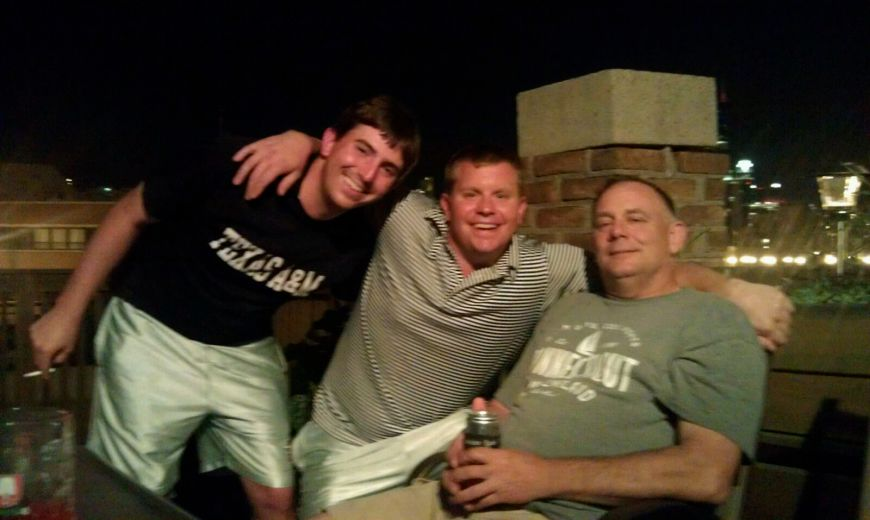 Robby, Kyle, and Frank the Tank!