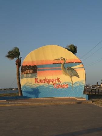 Rockport Beach Sign
